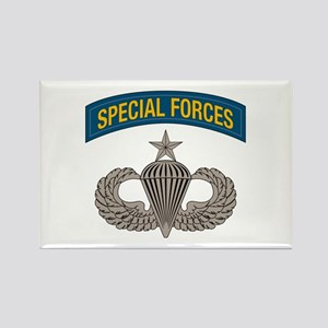Airborne Special Forces Senior Rectangle Magnet